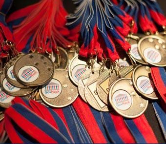 GovHack medals