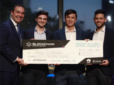 Blockchain winners Seraph by Wright Technologies