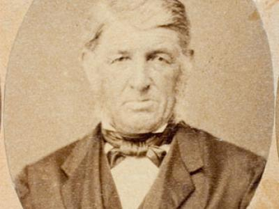 Photograph of colonist David Dow